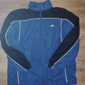 Russel Athletic Blue Windbreaker